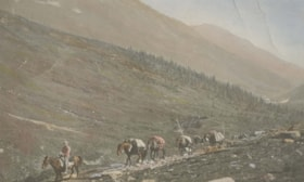 Klondike Cattle Drive by Norman Lee.  Location: on Telegrap… (descriptions4606)